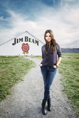 Jim Beam(R) Partners with Mila Kunis