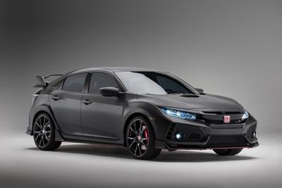 Honda Civic Type R Makes North American Debut at the 2016 SEMA Show