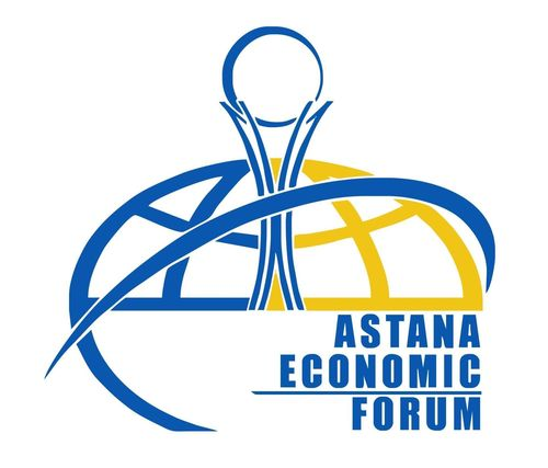Astana Economic Forum Logo (PRNewsFoto/Astana Economic Forum)