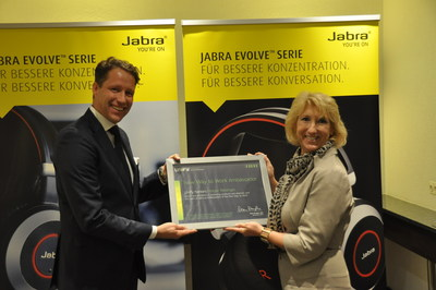 Jabra Named New Way to Work Ambassador by Unify