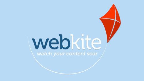 Empowering anyone to create a data-focused site.  (PRNewsFoto/WebKite)