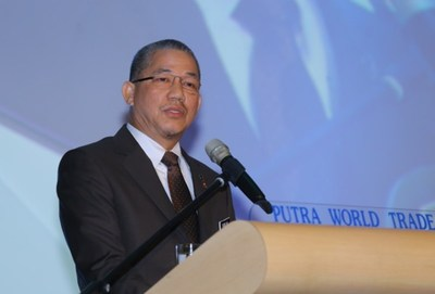 Opening Address by Minister of Works, Y.B. Datuk Fadillah bin Haji Yusof (PRNewsFoto/UBM Asia (Malaysia))
