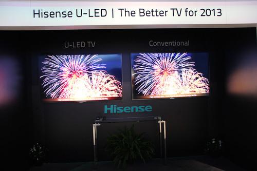 Hisense U-LED debütiert auf der CES 2013