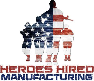 Heroes Hired Manufacturing Logo.  (PRNewsFoto/Heroes Hired Manufacturing)