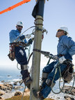 PG&E linemen play a critical role in delivering safe and reliable power to communities throughout Northern and Central California. (PRNewsFoto/Pacific Gas and Electric Company)