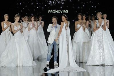 FINALE Pronovias Fashion Show. (PRNewsFoto/PRONOVIAS)