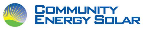 Community Energy Solar Logo.  (PRNewsFoto/Canadian Solar Inc.)