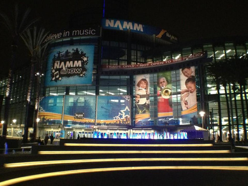 Global Music and Sound Industry Finds Success at the 2013 NAMM Show. (PRNewsFoto/National Association of Music ...