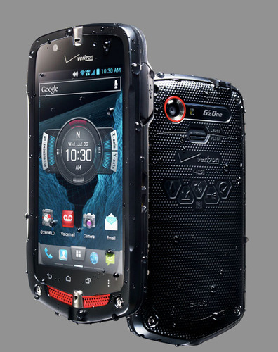 Verizon Wireless Unveils The CASIO G'zOne Commando® 4G LTE Advanced Ruggedized Android™ Smartphone