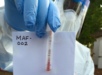 Bedside ebola test used in the field in Sierra Leone provides accurate results within minutes.