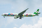 EVA Air launched nonstop Houston-Taipei flights with its brand-new Hello Kitty Shining Star Jet, a specially painted Boeing 777-300ER.