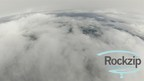Shot of Lake Michigan (blue patch in back) while ascending through the clouds on our latest highballoon launch. (PRNewsFoto/Rockzip Highballoons)