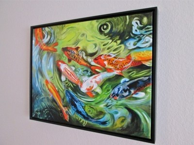 """Torrance Marriott Redondo Beach, in partnership with OMG Global LLC, will be hosting an upcoming silent auction with """"Koi Commotion"""" by local artist Bridget Hardenbrook on the block. The auction runs May 30, 2015, through 2 p.m. June 7, 2015. For information, visit www.marriott.com/LAXTR or call 1-310-316-3636."""