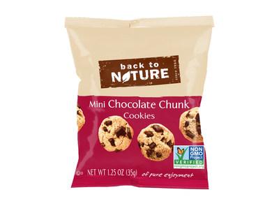 Mini Chocolate Chunk Cookies Single Serving