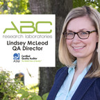 ABC Research Laboratories QA Director, Lindsey K. McLeod, Receives ASQ Quality Auditor Certification