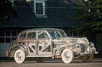 "Up for Auction: This extraordinary 1939 Pontiac Plexiglas Deluxe Six ""Ghost Car,"" the first full-sized transparent car built in America, will cross the auction block, July 30 in Plymouth, Michigan. Visit www.rmauctions.com for details.  (Source - Aaron Summerfield (C) 2011 courtesy RM Auctions).  (PRNewsFoto/RM Auctions, Aaron Summerfield)"