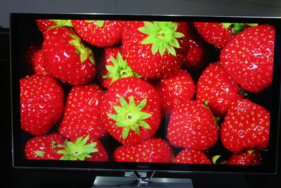 The Panasonic TC-P65ZT60 Plasma TV.  (PRNewsFoto/Consumer Electronics Advisory Group Inc.)