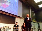 Malcolm McKenzie, Head of Keystone Academy, speak at the 2015 Harvard China Education Symposium.