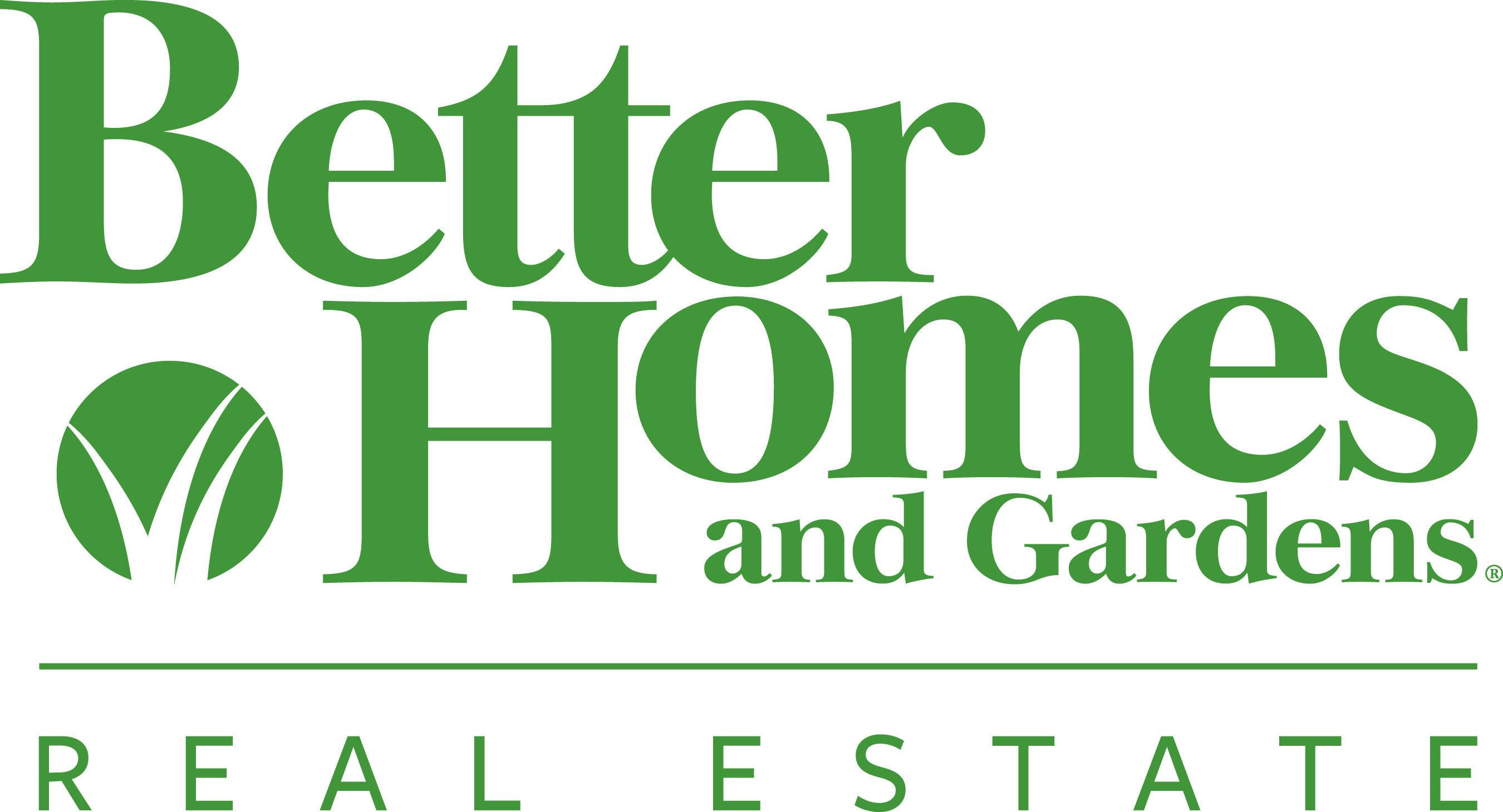 Better Homes and Gardens Real Estate LLC logo.