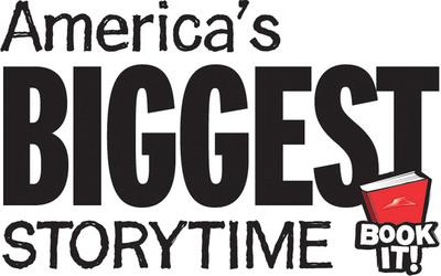 America's Biggest Storytime logo.  (PRNewsFoto/Pizza Hut)