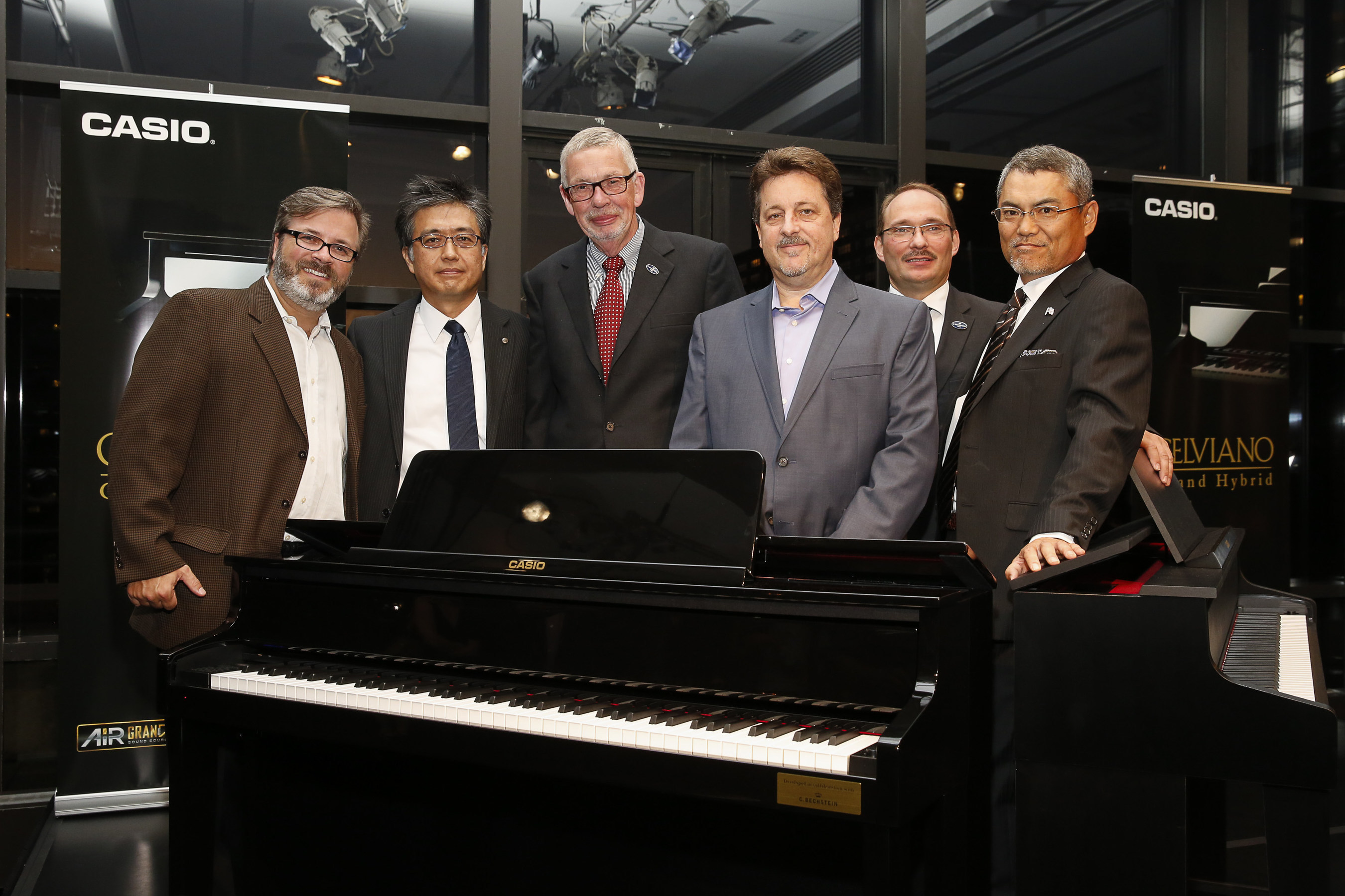 Casio Launches Grand Hybrid Pianos At Lincoln Center Event