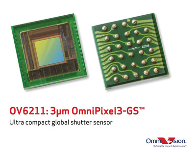 OV6211: Ultra-compact global shutter sensor for computer vision applications