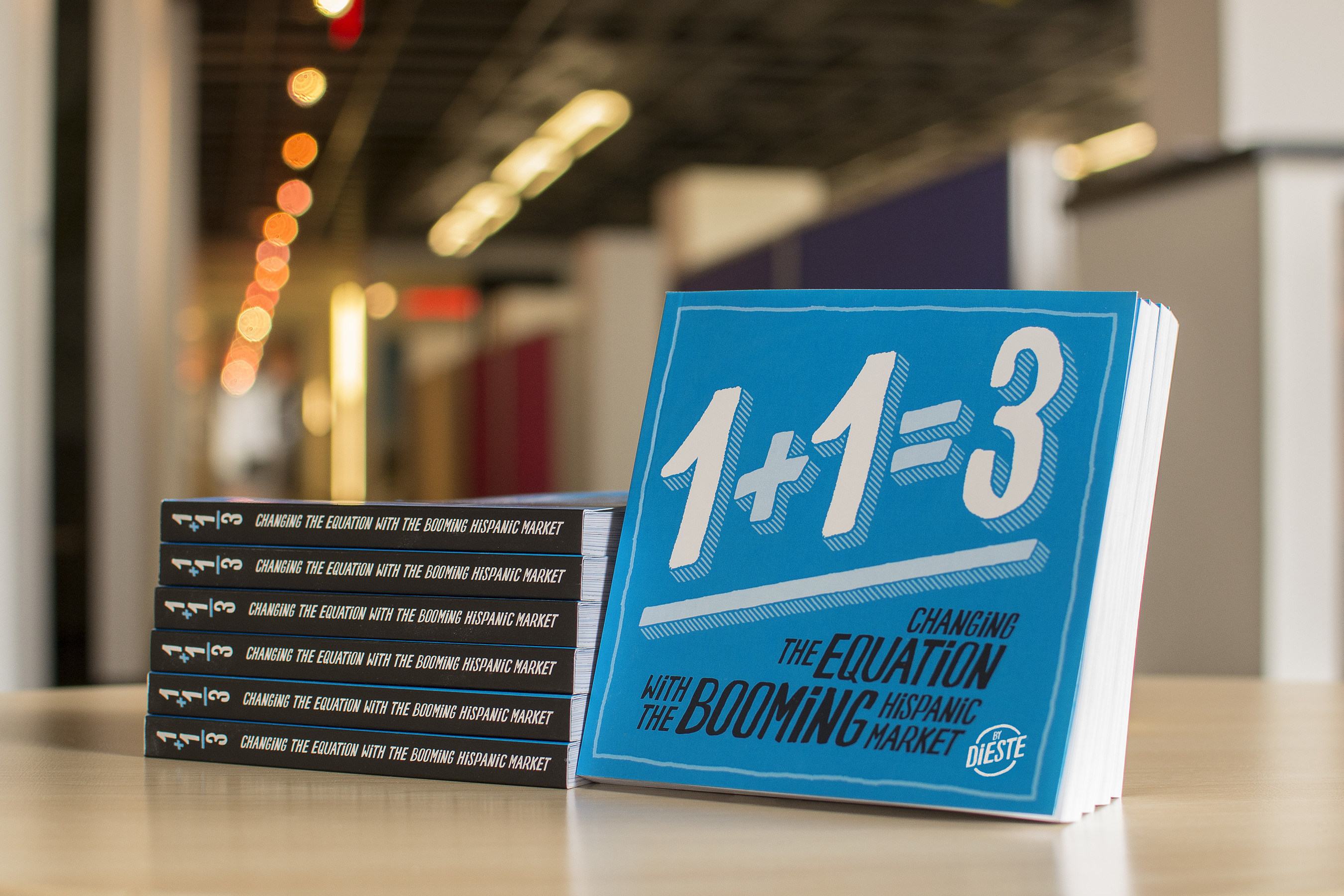 '1+1=3 Changing The Equation With The Booming Hispanic Market' was authored as a collaboration between several Dieste employees.