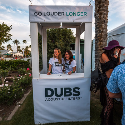 DUBS booth at Coachella Music & Arts Festival