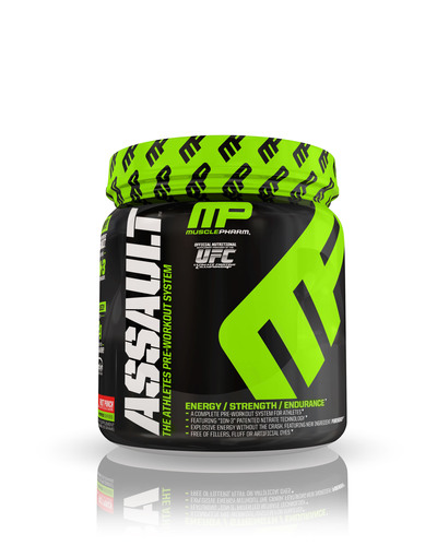 MusclePharm Releases New Formulation of Award-Winning Pre-Workout Product ASSAULT(TM).  (PRNewsFoto/MusclePharm  ...
