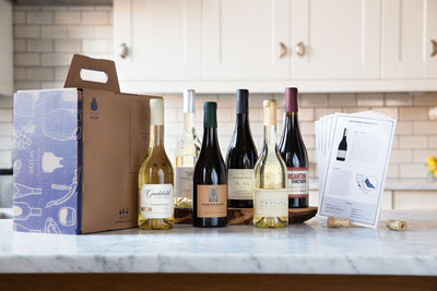 Blue Apron, The country's leading recipe and fresh ingredient delivery service expands offering to include wine pairings
