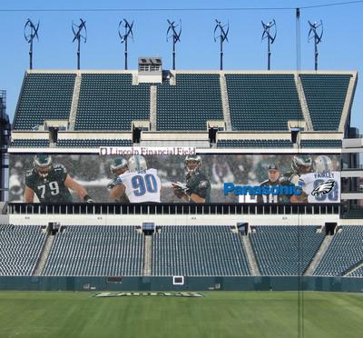 Philadelphia Eagles and Panasonic Announce Expansive Partnership. (PRNewsFoto/Panasonic) (PRNewsFoto/PANASONIC)
