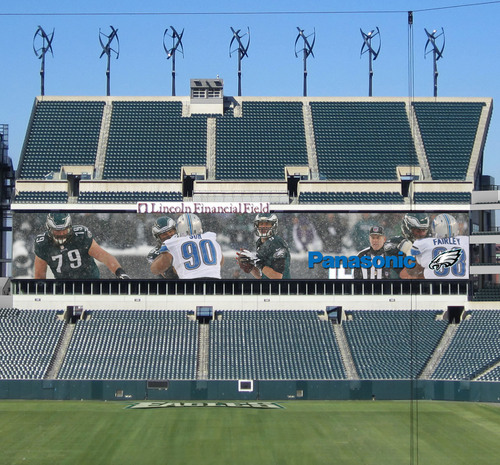 Philadelphia Eagles and Panasonic Announce Expansive Partnership.  (PRNewsFoto/Panasonic)