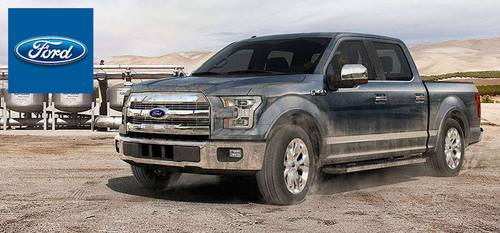 Pickup truck enthusiasts have an opportunity to be one of the first people to get behind the wheel of the next-generation Ford F-150.  (PRNewsFoto/Portsmouth Ford)