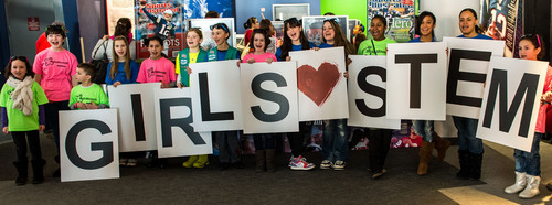 Celebrating 'Girl Day': Raytheon introduces girls to engineering
