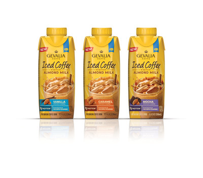 Made with a blend of Gevalia 100% Arabica coffee, creamy almond milk and just enough sweetness.