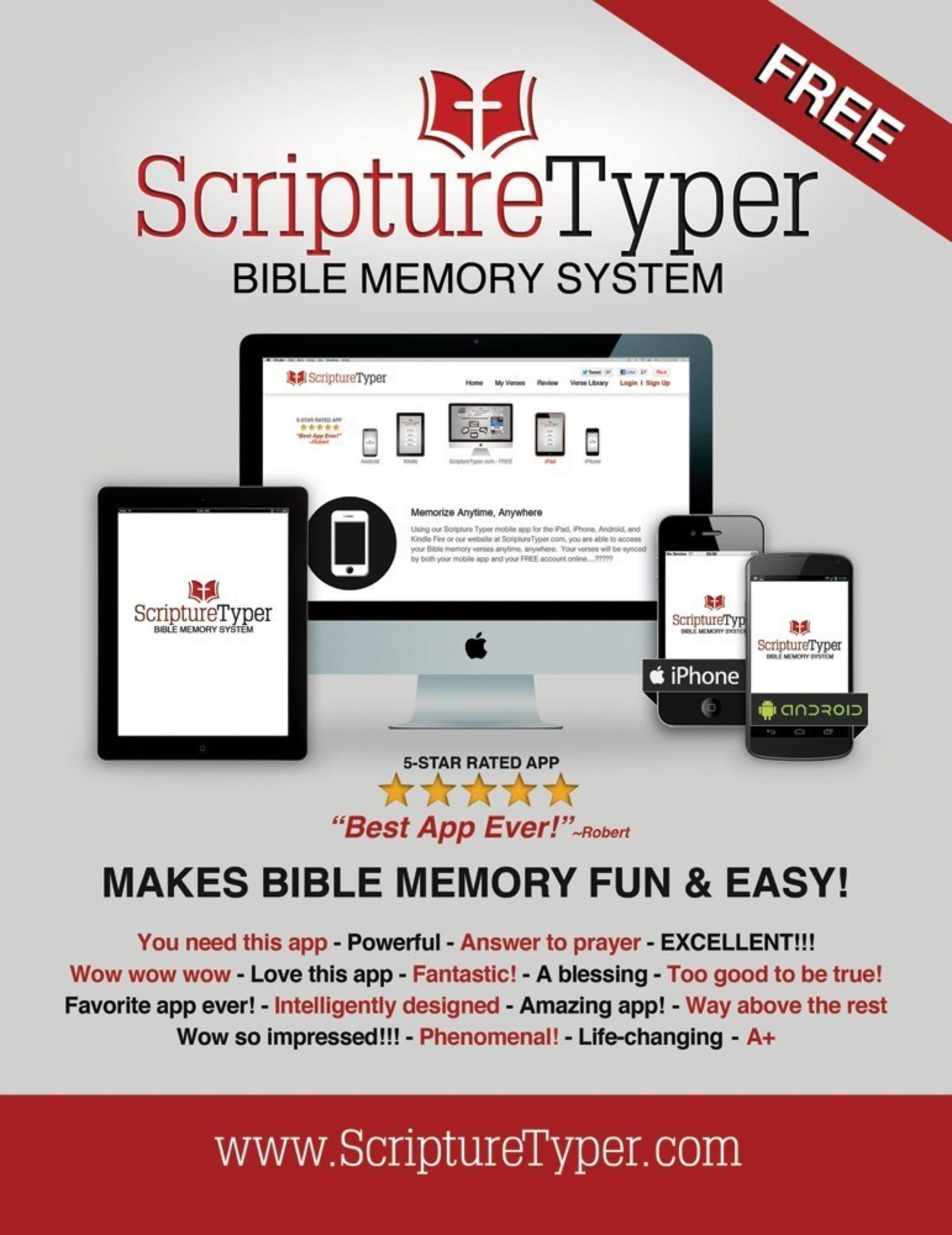 Scripture Typer Bible Memory App Releases its Biggest Update