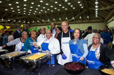 At Goodwill's 61st Annual Thanksgiving Dinner & Resource Fair in Baltimore over 300 volunteers from across Maryland will join together to provide turkey and all the trimmings to approximately 3,000 people with disabilities or special needs.