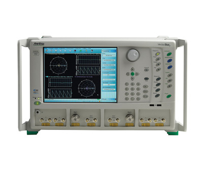 Anritsu's New VectorStar VNAs feature cutting-edge pulse measurement and true mode stimulus capabilities to accurately test and characterize radar and high-speed serial designs.  (PRNewsFoto/Anritsu Company)