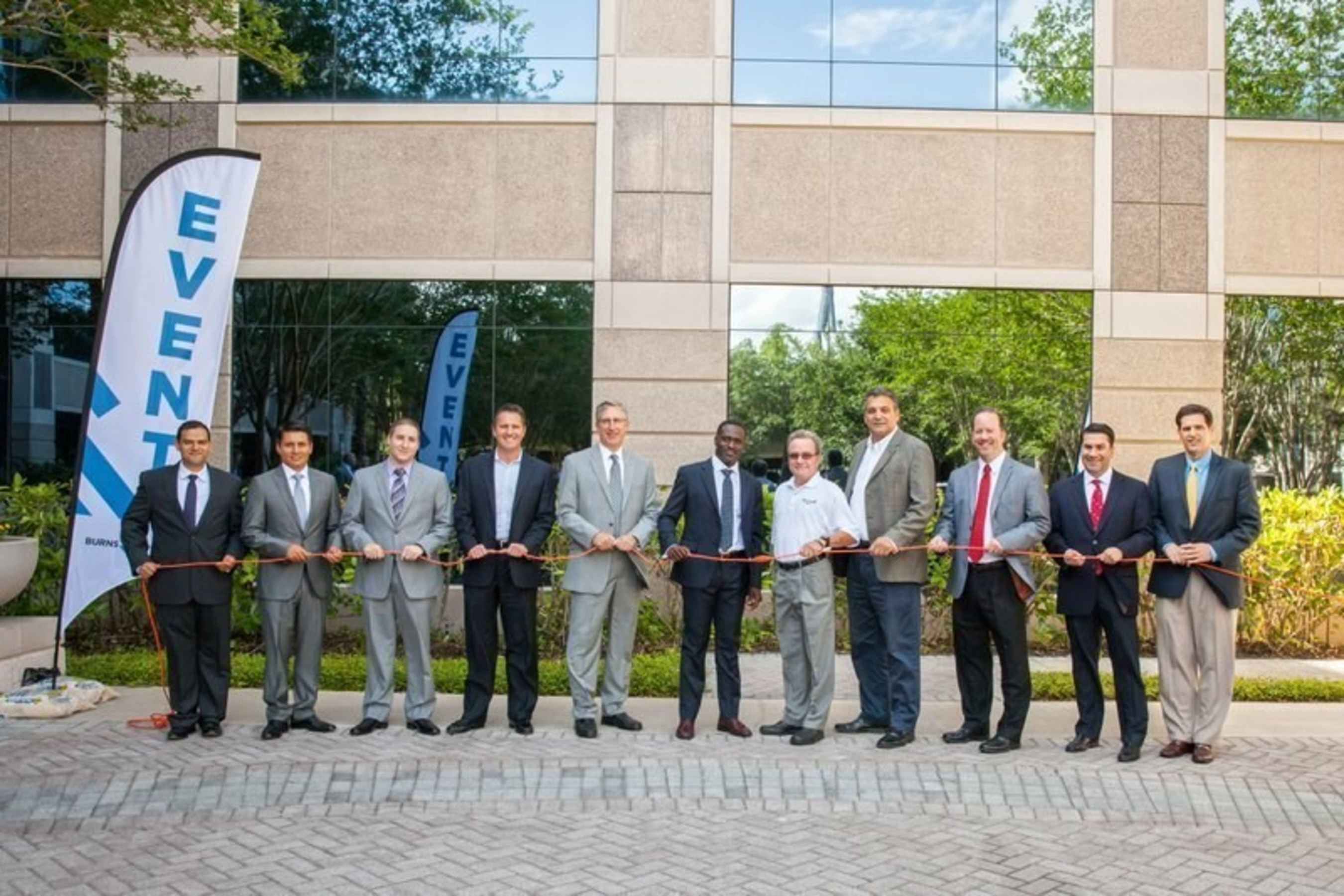 """AEC firm Burns & McDonnell's award-winning and globally-recognized transmission and distribution team launched its latest regional office in Florida. Following their traditional ribbon cutting, the team officially """"plugged in"""" to its clients throughout the state."""