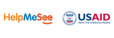The official logos of HelpMeSee and USAID.