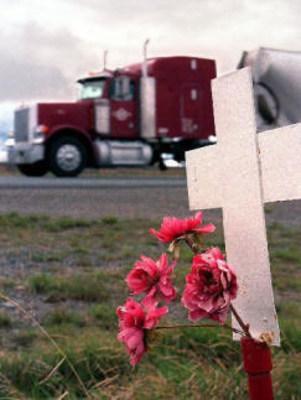 Semi Truck Victim