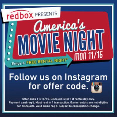 Redbox's America's Movie Night