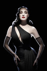 Dita Von Teese, model and burlesque star, shares her first paycheck story with Working Wardrobes. Photo courtesy of Ali Mahdavi.