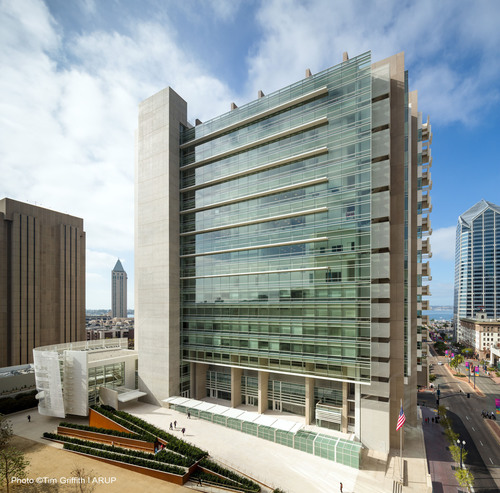 Arup's Innovative Design of U.S. Federal Courthouse San Diego Meets Goals of GSA Excellence Program