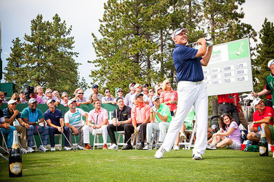 Sports And Entertainment Greats Contend For Korbel Closest-To-The-Pin Title In Tahoe
