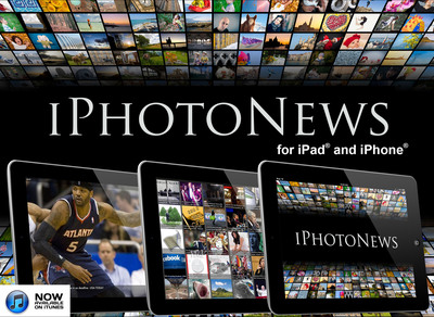 iPhotoNews for iPad and iPhone available on iTunes.  (PRNewsFoto/Fresly LLC)