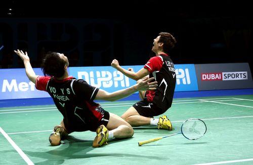 Lee Yong Dae,Yoo Yon Seong, Korea (PRNewsFoto/BWF DESTINATION DUBAI)