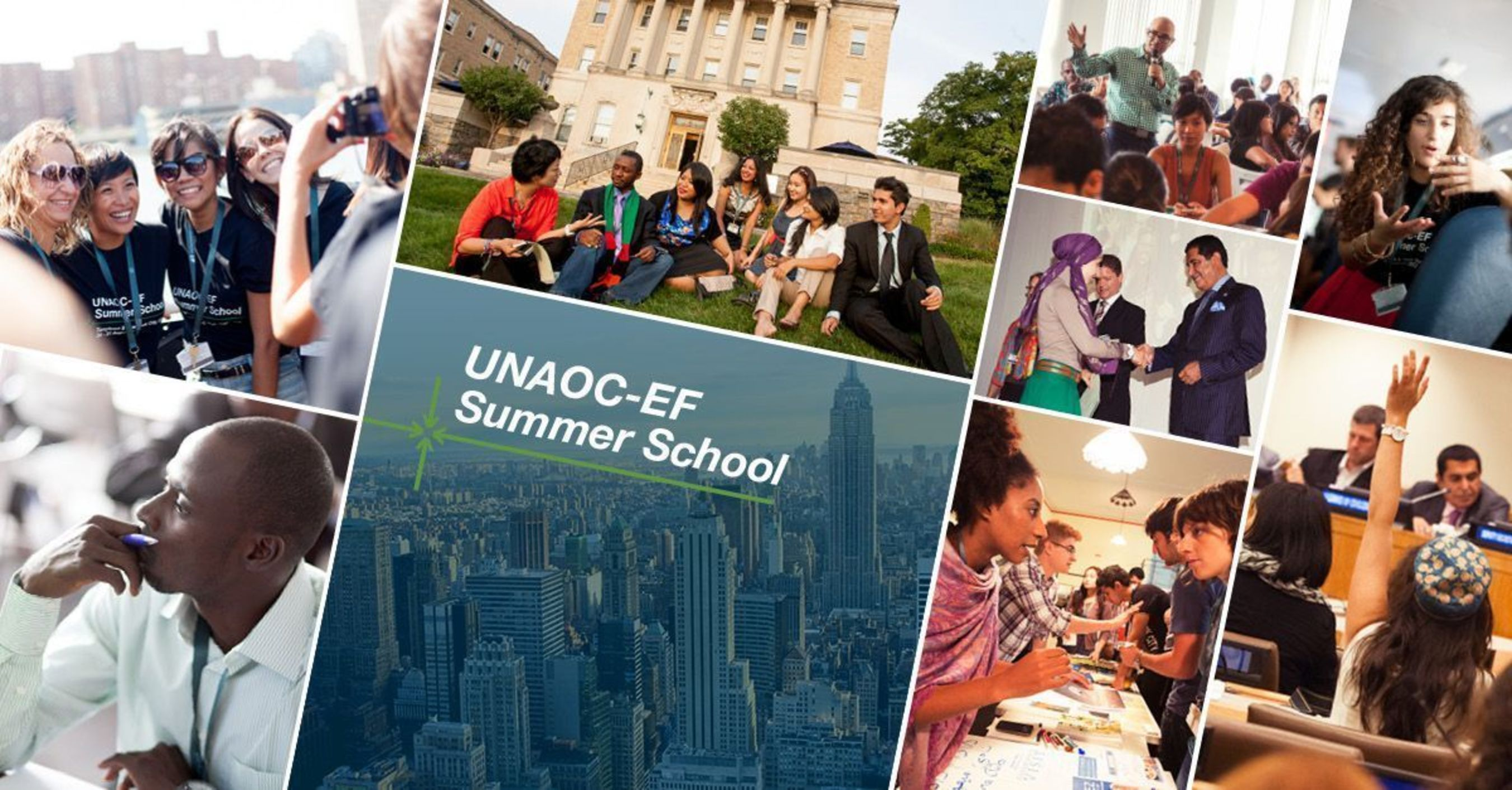 Apply now for the UNAOC-EF Summer School in Tarrytown, New York. (PRNewsFoto/EF Education First _EF_)