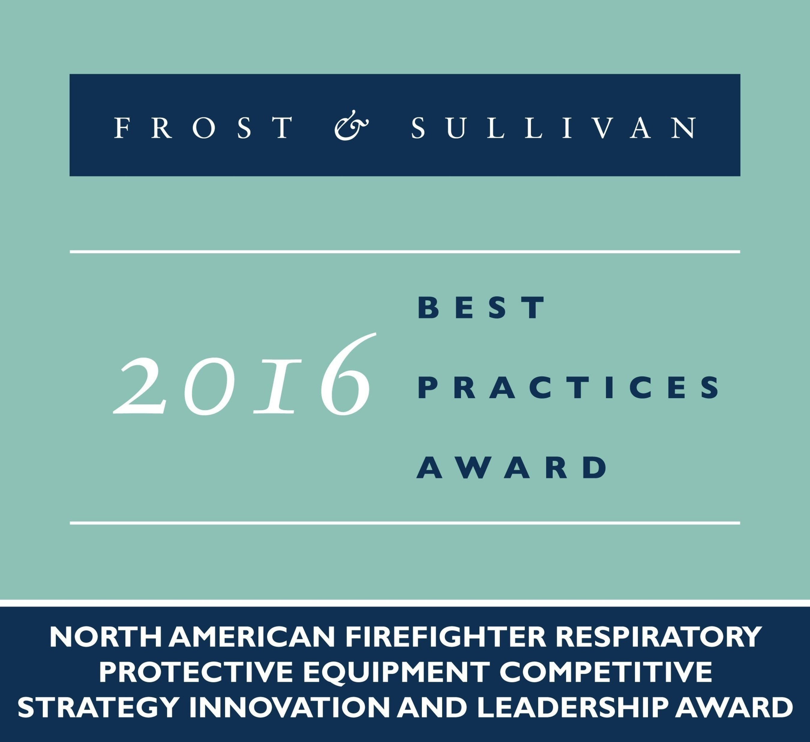 Scott Safety Receives 2016 North American Firefighter Respiratory Protective Equipment Competitive Strategy Innovation and Leadership Award