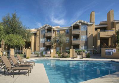 Poolside - Arcadia Cove Apartments.  (PRNewsFoto/The Bascom Group, LLC)